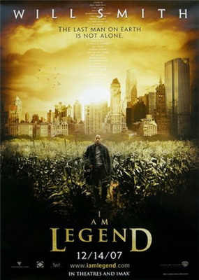 Я - легенда! / I Am Legend (2007) DVDRip Ukr